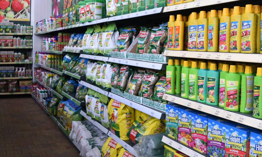 Hnojiva – snadné vybírání