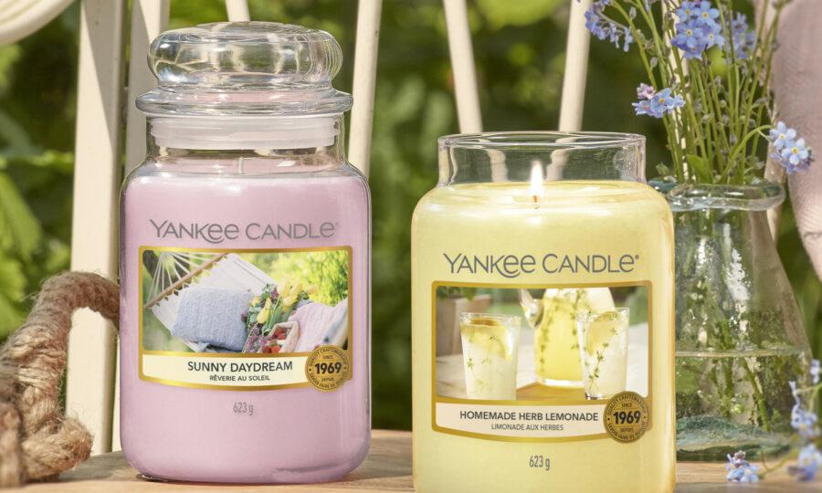 Yankee candle – vůně měsíce května se slevou 25%